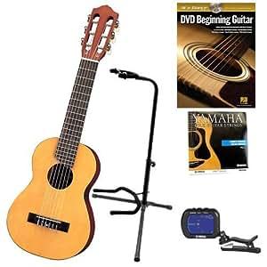 yamaha gl1 guitalele guitar ukulele with clip on tuner yamaha guitar strings. Black Bedroom Furniture Sets. Home Design Ideas