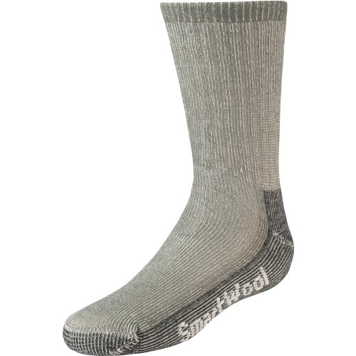 Smartwool Kid's Hiking Medium Crew, Sage/Black size XS