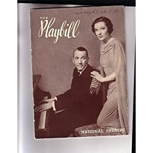 Tonight at Eight-Thirty NYC Broadway Playbill 1936 Gertrude Lawrence Noel Coward Noel Coward