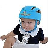 ELENKER Baby Children Infant Adjustable Safety Helmet Headguard Protective Harnesses Cap Blue