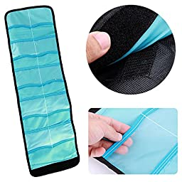 pangshi® Nylon Filter Wallet 10 Pocket Case Pouch Carry Bag for Cokin P Series Lens A042