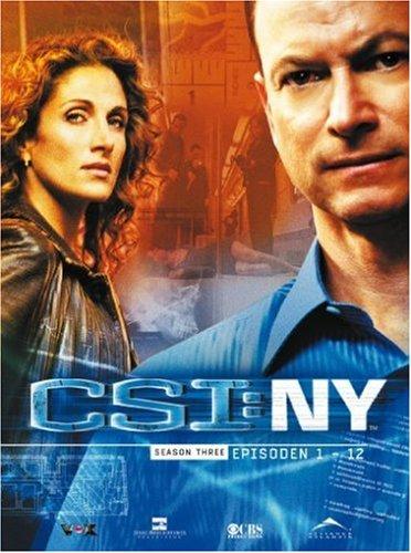 CSI: NY - Season 3.1 (3 DVDs)