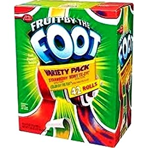 Betty Crocker Fruit Variety Pack Snacks 42 Rolls