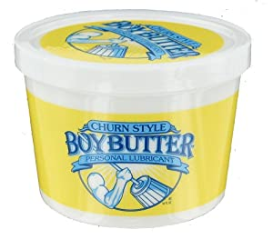 Boy Butter Personal Lubricant 16-Ounce Tubs