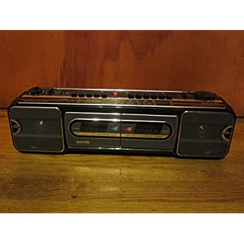 Vintage 1987 Sanyo Boom Box