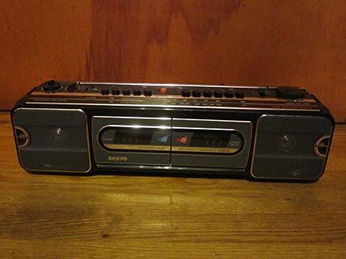 Vintage 1987 Sanyo Boom Box 0