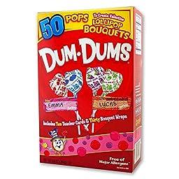 Dum Dums Valentine Kit - 50 Ct Box