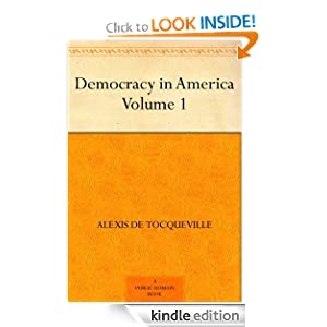 Logo for Democracy in America - Volume 1