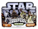 Hasbro 85395 Star Wars Galactic Heroes Mini-Figure 2 Pack - Jawa and Tusken Raider