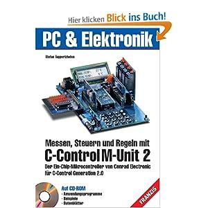 eBook Cover für  Messen Steuern und Regeln mit C Control M Unit 2 m CD ROM