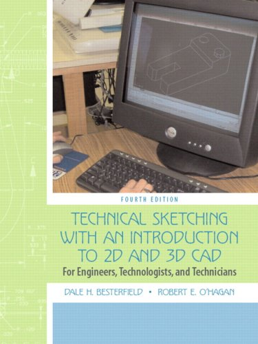 Technical Sketching with an Introduction to AutoCAD (4th Edition) - Prentice Hall - 0132432781 - ISBN:0132432781