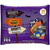 Hershey's Halloween Snack Size Assortment, 50-Count Bag