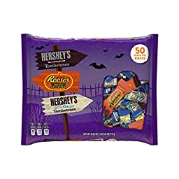 Hershey\'s Halloween Snack-Size Assortment (50-Count Bag)