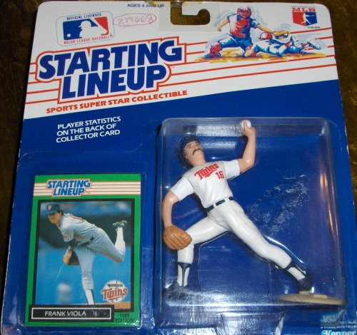 Frank Viola 1989 MLB Starting Lineup - 1