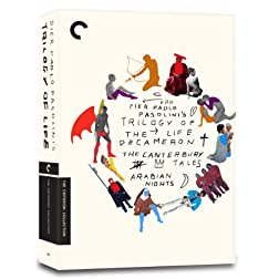 Trilogy of Life (The Decameron, The Canterbury Tales, Arabian Nights) (Criterion Collection)