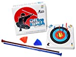 Office Ninja Two Blowguns with Ammo and Target, Safe Indoors from Quazi Geeks LLC