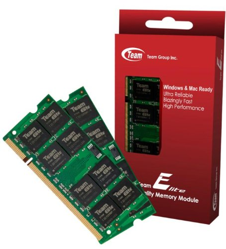 8Gb (4Gbx2) Team High Performance Memory Ram Upgrade For Toshiba Satellite T235-S1352 U500-1D6 U500-1Dq U500-1Dz Laptop. The Memory Kit Comes With Life Time Warranty.