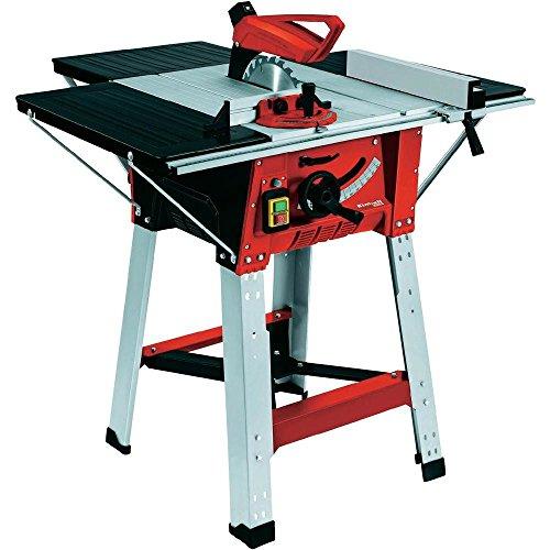 Tischkreissäge TE-TS 1825 U (1800 W, Sägeblatt-Ø 250 mm, Schnitthöhe 75 mm, Tischgröße 610x445 mm, Verlängerung, Untergestell)