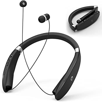 GRDE Bluetooth Headsets Retractable Headphones