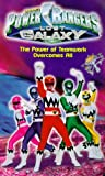 Power Rangers Lost Galaxy - The Power of Teamwork Overcomes All [VHS]
