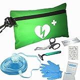 Emergency resuscitation Equipment CPR Fast Response Kit in Nylon Bag
