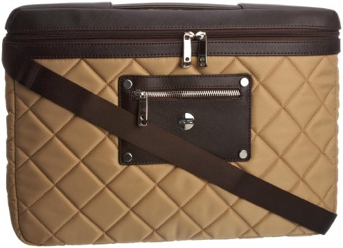 Knomo Women's Slim Accessories Gold Beige 25-059-GDB Medium