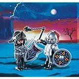 Playmobil - Pack de 2 figuras caballeros de hierro (5886)