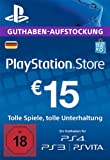 PlayStation Network Card - 15 EUR (für deutsche PSN-Konten) [PSN Code]