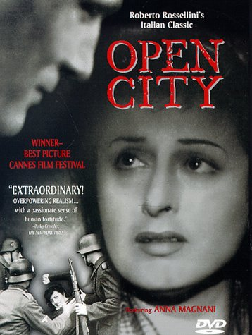 a review of roberto rossellinis film open city Earlier this month the criterion collection rereleased roberto rossellini review: rossellini's war trilogy gets an hour per film rome open city gets a.