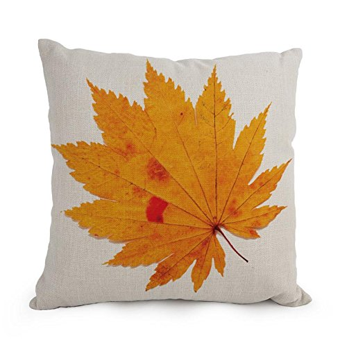 Loveloveu Leaf Throw Pillow Covers 12 X 20 Inches / 30 By 50 Cm Gift Or Decor For Divan,sofa,home,kids Room,coffee House,bedding - Double Sides