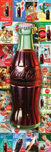 Coca Cola Bottle Collage 1000-Piece Slim Jigsaw Puzzle at Amazon.com