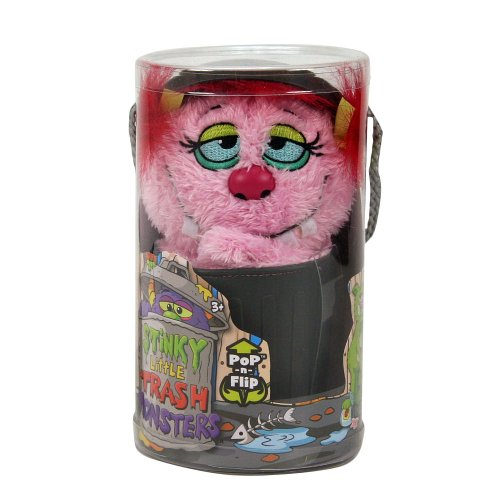 Stinky Little Trash Monsters 9 inch Plush Figure - Shabby, Pink - 1