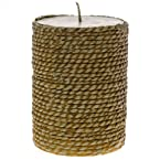 Twine Pillar Candle - Small