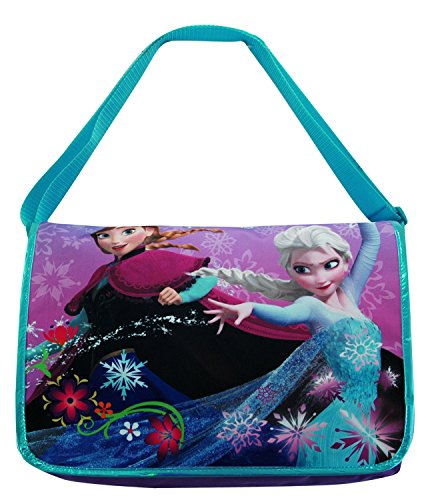 Disney Frozen Queen Elsa and Princess Anna Messenger Bag