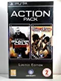 Tom Clancy's Splinter Cell Essentials and Prince of Persia Rival Swords (PSP) Double ACTION PACK