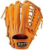 ZETT(ゼット) 軟式グラブ プロステイタス 外野手用 右投用 オレンジ BRGB30527