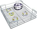 Now & Ever Stainless Steel Kitchen Utensil Basket, 17x20x6 inches, Silver, 1-piece