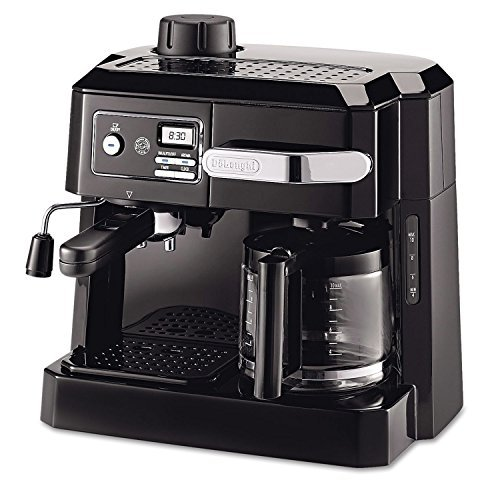 DeLonghi Combination Drip Coffee and Espresso Machine, with Patented Flavor Savor Brewing System & Swivel Jet Frother For Great Cappuccinos, Pause 'n Serve Feature, 24 Hour Digital Programmable Timer (Delonghi Coffee And Cappuccino compare prices)