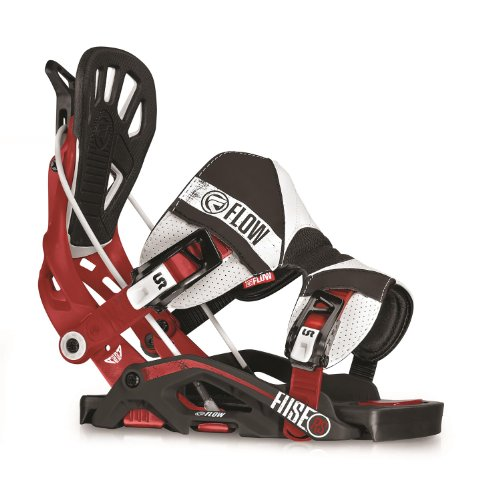 Flow Fuse RS Snowboard Binding – Men's Rallyred X-Large