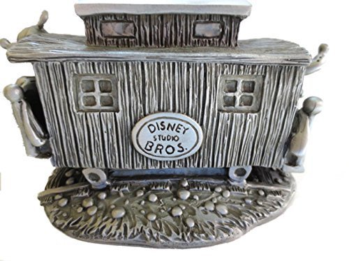 A-Disney-Convention-2001-Mickey-Pluto-trainman-cars-Metal-Figure-by-Dinsey-Store