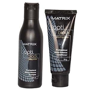 Matrix Opti Black Shampoo & Conditioner Combo