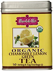 Brew La La - Organic Green Tea Chamomile Lemon - 50 Tea Bags