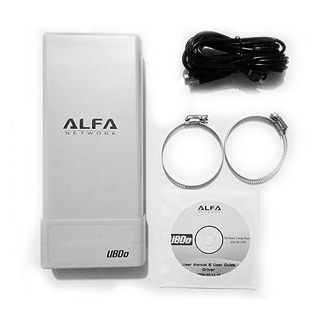 Alfa Network UBDO-N Adaptateur USB WiFi 802,11b/g/N longue portée radio avec Connecteur type N avec antenne externe 8 m