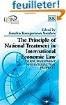 The Principle of National Treatment i...