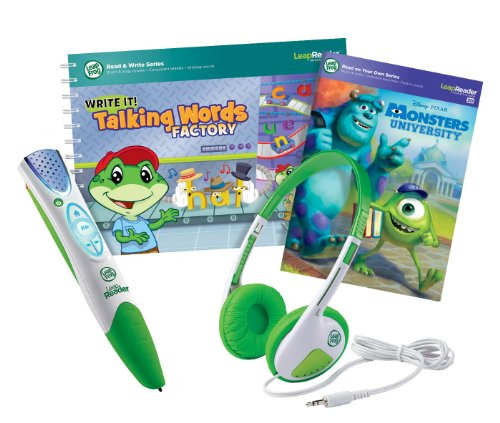 Leapfrog Leapreader Ultimate Read, Write And Listen Variety Pack, Green