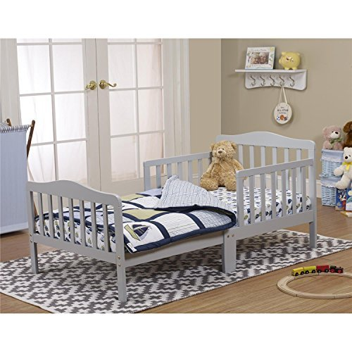 Orbelle Trading Toddler Bed Grey Furniture Baby Furniture