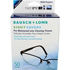 bausch and lomb sight savers pre moistened