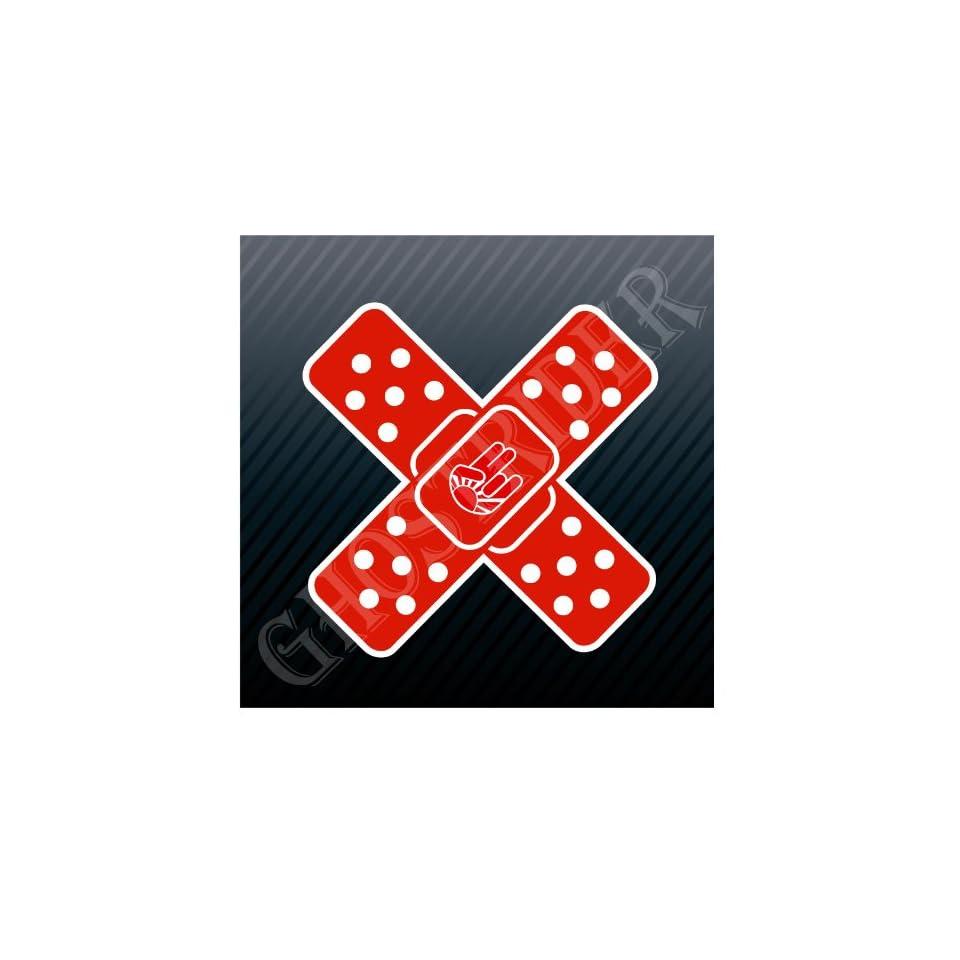 Jdm Bandage Shocker Band Aid Sport Racing Sticker Decal