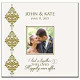 Personalized Mr & Mrs Wedding Anniversary Gifts Photo Album Holds 200 4x6 Photos Wedding Gift Ideas And so Together They Lived Happily Ever After Made By Dayspring Milestones