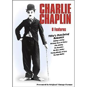 Charlie Chaplin - 8 Features